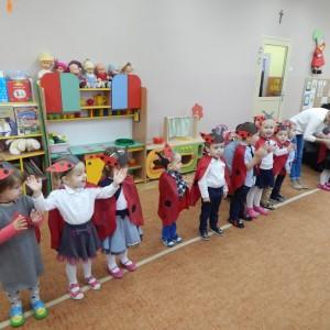 Pasownie na przedszkolaka grupa Biedroneczki (1)