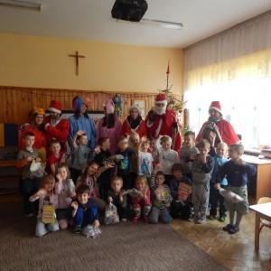 Wizyta świetego Mikołaja w Przedszkolu  (17)