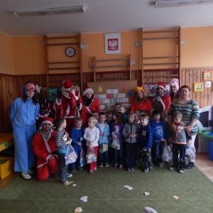 Wizyta świetego Mikołaja w Przedszkolu  (9)
